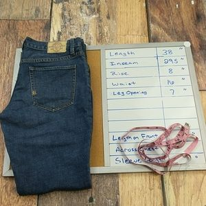 Ralph Lauren Rugby Skinny Tapered Denim Jeans